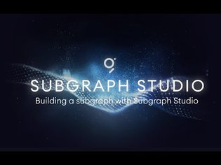 Building a Subgraph with Subgraph Studio