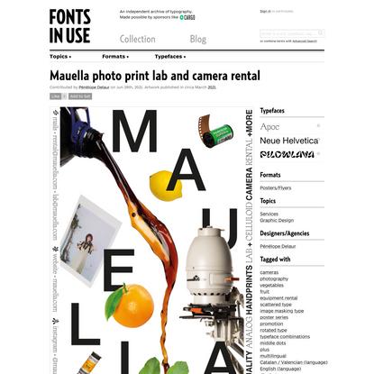 Mauella photo print lab and camera rental