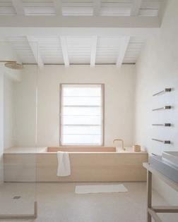 Built-in Bathtub by the window