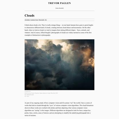 Clouds – Trevor Paglen