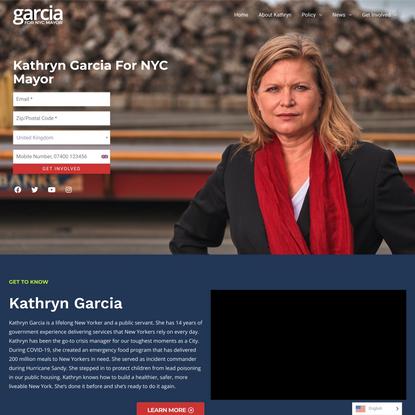 KGforNYC – Kathryn Garcia for Mayor of New York City