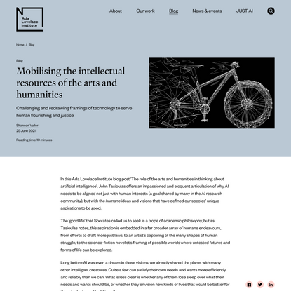 Mobilising the intellectual resources of the arts and humanities
