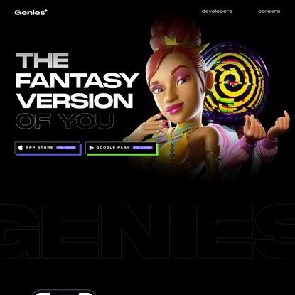 Genies | 3D Avatars For Consumers and Celebrities