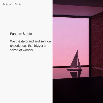 Random Studio - Studio