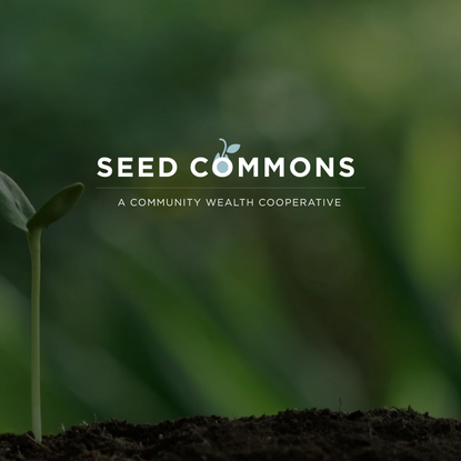 Homepage - SEED COMMONS