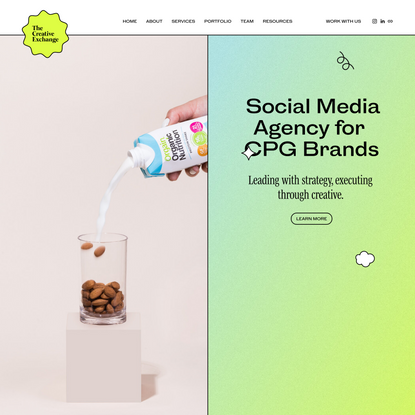 Social Media Content Creation Agency | The Creative Exchange