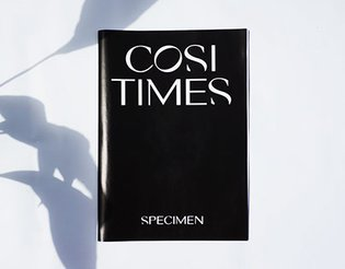 Cosi Times Typeface