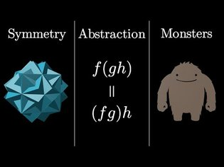 Group theory, abstraction, and the 196,883-dimensional monster