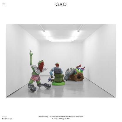 GAO — Daniel Burley