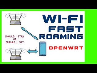 CHEAP WI-FI MESH ALTERNATIVE with fast roaming OpenWrt Wi-Fi Access points