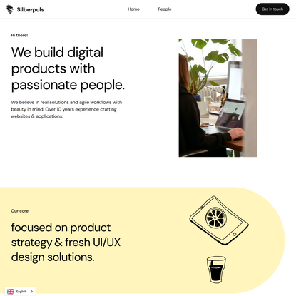 Silberpuls the agile product design studio with 600+ experiences