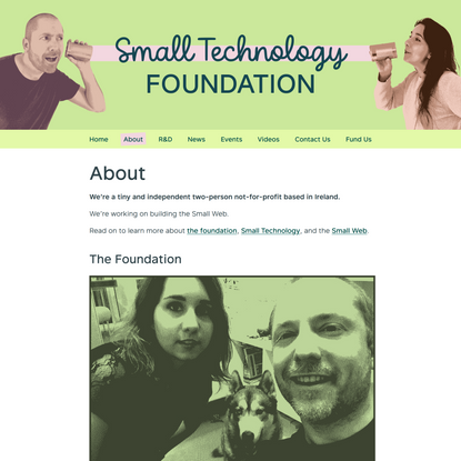 Small Technology Foundation – About