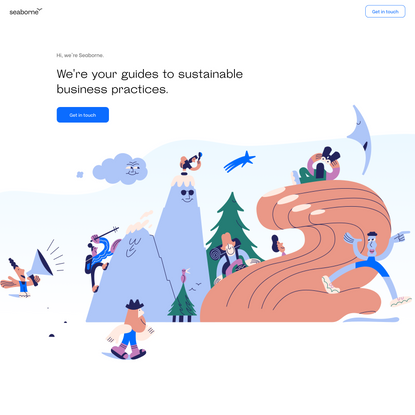 Seaborne — Your guides to sustainable business practices
