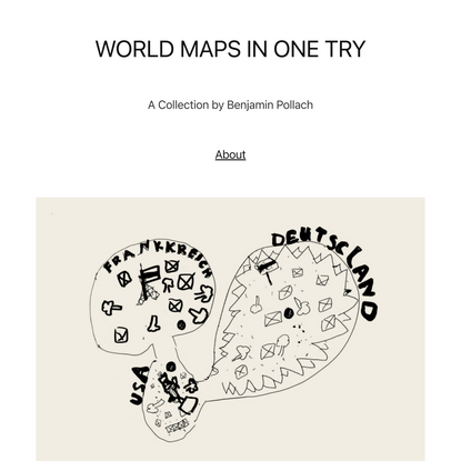 WORLD MAPS IN ONE TRY