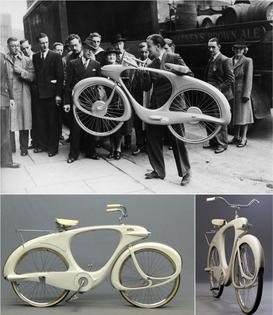 Benjamin G. Bowden, Spacelander Bicycle (1946)