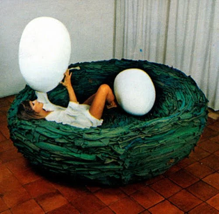 La Cova sofa by Gianni Ruffi (1972)