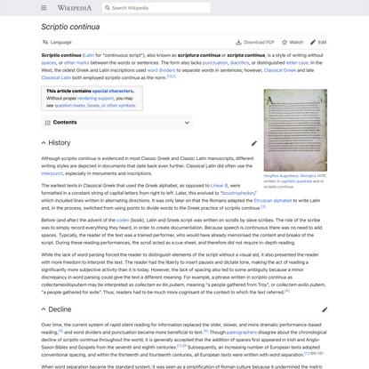 Scriptio continua - Wikipedia
