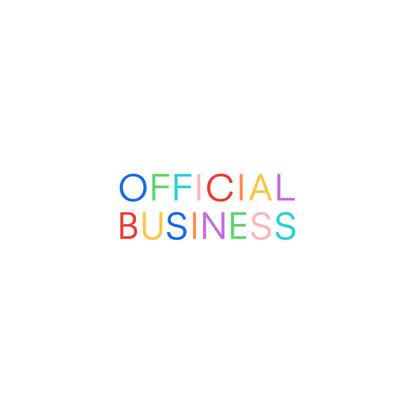 Let's get busy. Official Business — Digital partner for creative brands.