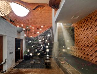Gadi House in Talegaon Dabhade, India (designed by PMA madhushala, 2020)