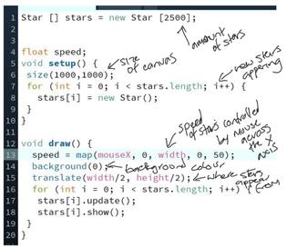 Star Field Code 1