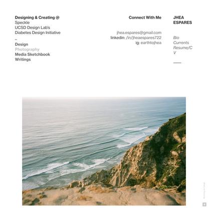 Photography — Jhea Espares