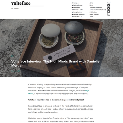 Volteface Interview: The High Minds Brand with Danielle Morgan - Volteface