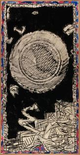 Pierre Alechinsky  (1927, Belgique) Bouclier urbain
