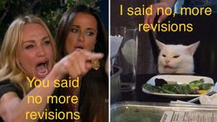 no, more revisions