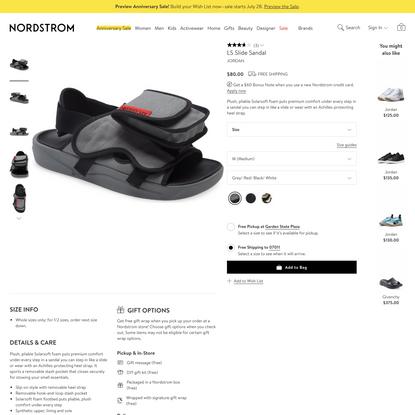 LS Slide Sandal | Nordstrom
