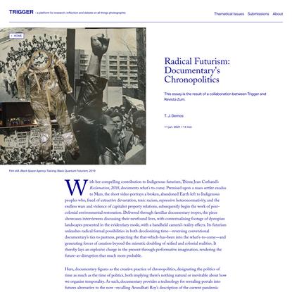 Radical Futurism: Documentary's Chronopolitics