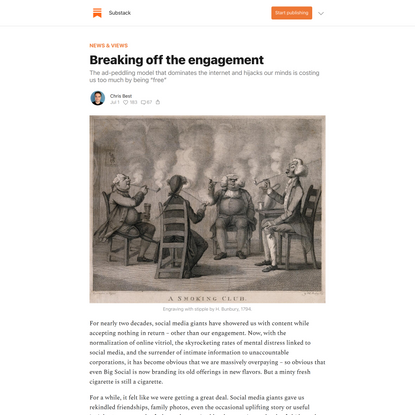 Breaking off the engagement