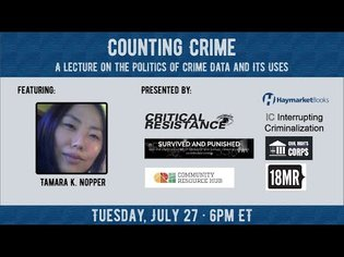 Counting Crime: A Lecture on the Politics of Crime Data and Its Uses