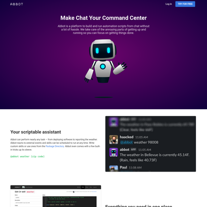 Make Chat Your Command Center