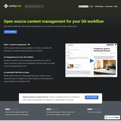 Netlify CMS | Open-Source Content Management System