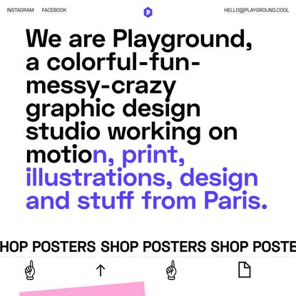 Playground Paris - Graphic Design Studio