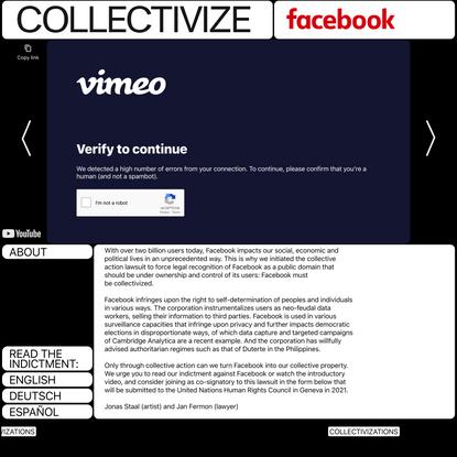 Collectivize Facebook