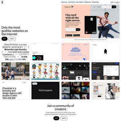 Godly Website — The Most Godlike Web Design Inspiration