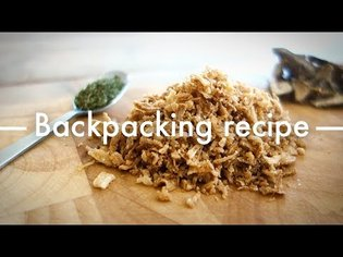 Vietnamese Phở instant noodles - Backpacking recipes