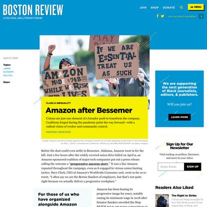 Amazon after Bessemer