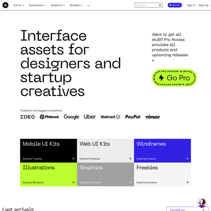 Craftwork: UX/U kits, templates, vector and 3D illustrations