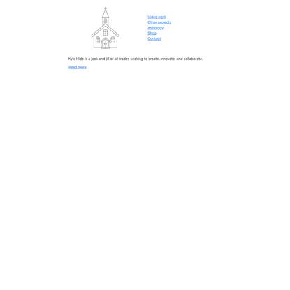 Kyle's homepage