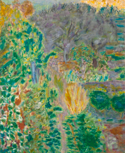Image  Pierre Bonnard (1867-1947), Jardin au Cannet, ca. 1943