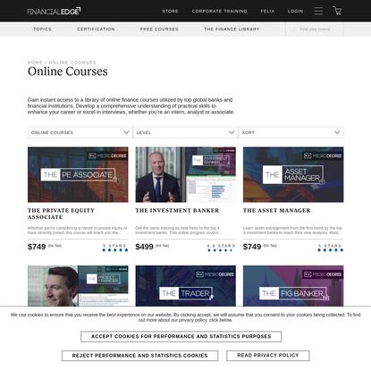 Online Courses Archives - Financial Edge