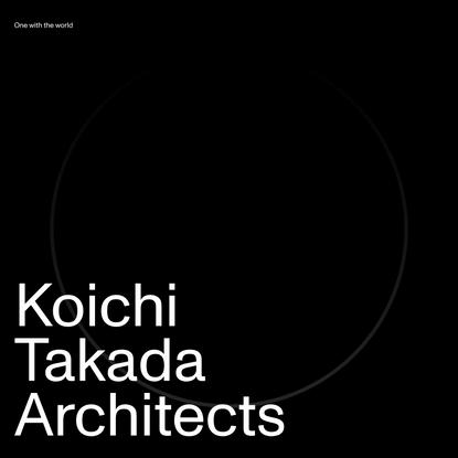 Home - Koichi Takada Architects