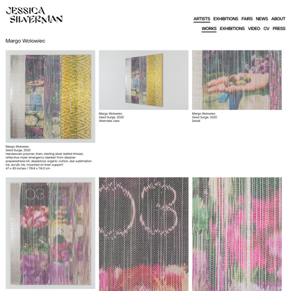 Margo Wolowiec| Selected Works|Jessica Silverman Gallery