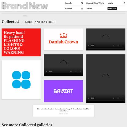 Brand New: Logo Animations