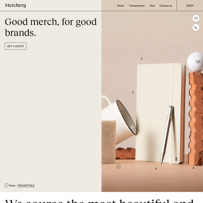 Merchery | Promotional products made sustainable