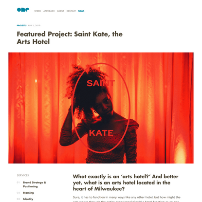Featured Project: Saint Kate, the Arts Hotel