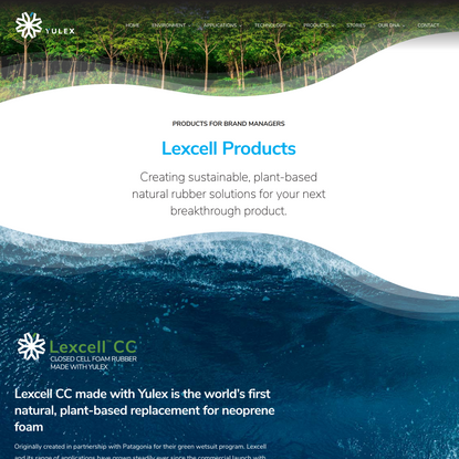 Lexcell Products - Yulex