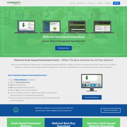 Webroot Geeksquad Download - Best Buy Geek Squad Webroot